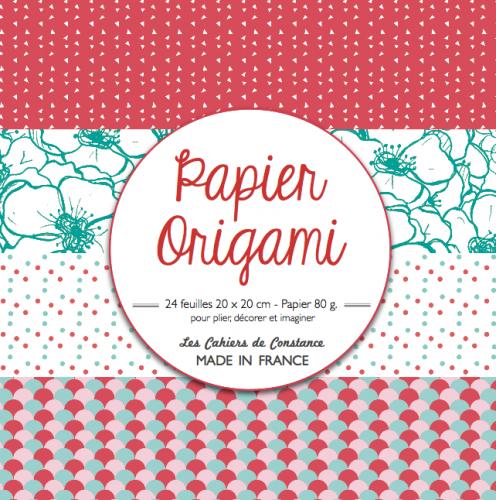 Origami (rouge & bleu)