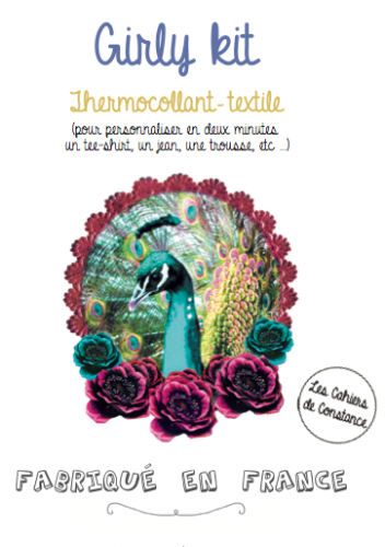 Thermocollant paon