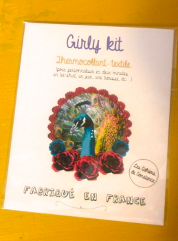 Girly Kit «Paon» (thermocollant)