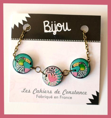 Bracelet trio «Toucan»