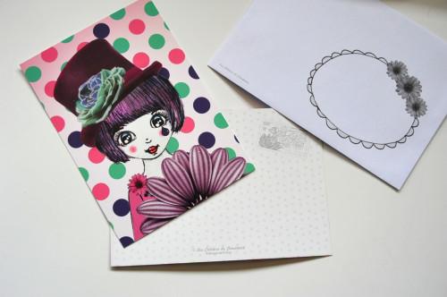 Carte postale Nina