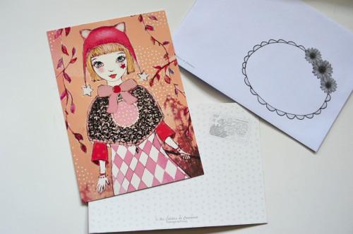 Carte postale Mélusine