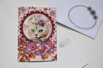 Carte postale Chat