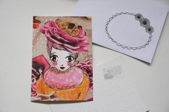 Carte postale Miss