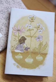 Carnet Mam'zelle Roüge «Jardin»