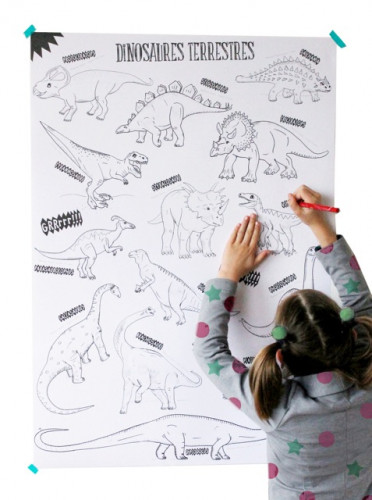 Colo géant : dinosaures