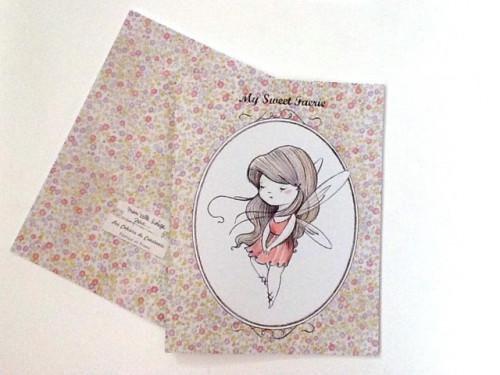 Cahier ligné «sweet»