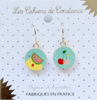 Boucles pendantes Fruity