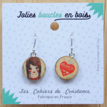 Boucles pendantes Faustine