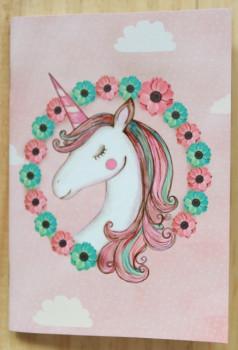 03.Petit carnet Licorne
