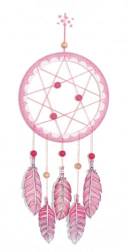 Attrape-rêves «rose pastel»
