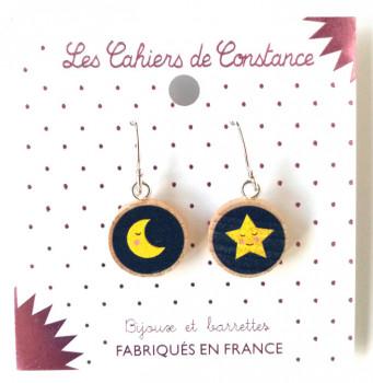 Petites boucles Lune-étoile