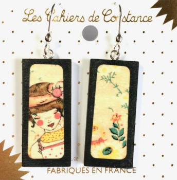 Boucles Rectangle Anne