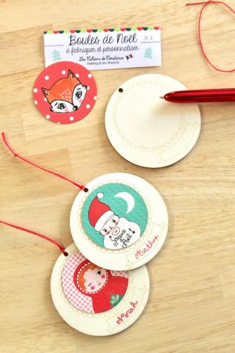 5 boules de Noël à créer et personnaliser