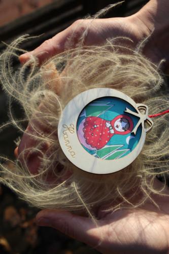Boule Poupée russe à personnaliser