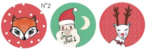 3 boules de Noël à créer et personnaliser
