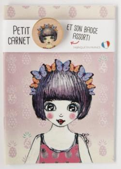Carnet badgé Nina