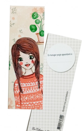 Marque-pages «Faustine»