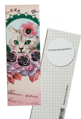 Marque-pages «Chat»