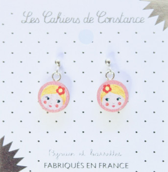 Boucles puces Matriochka