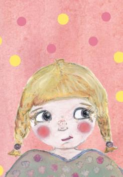 Carte «Blondinette»