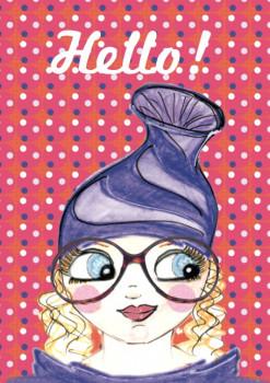 Carte «Hello !»