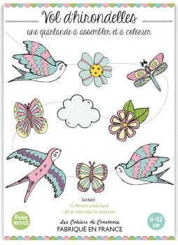 Guirlande : Vol d'hirondelles