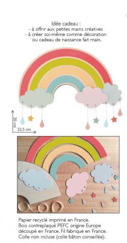 Arc-en-ciel multicolore à fabriquer