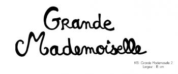 Grande Mademoiselle or