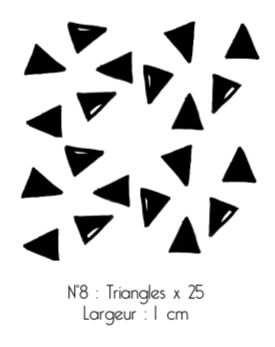 Triangles argent