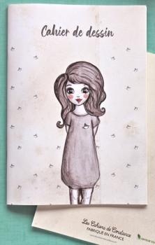 Cahier de dessin «Ondine»