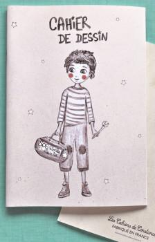 Cahier de dessin «Rêveur»