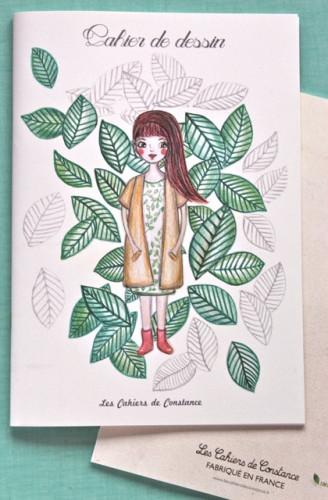Cahier de dessin «Olivia»