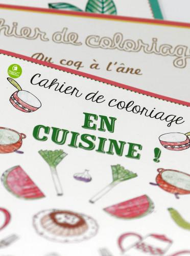 Coloriage En Cuisine